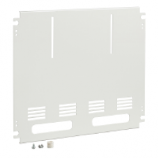 03152 - mounting plate for 2 3P-meters W600, Schneider Electric