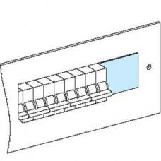 03221 - 4 divisible blanking plates W90 - Prisma, Schneider Electric
