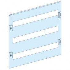 03223 - front plate 3 modular rows width 600/650 8M, Schneider Electric