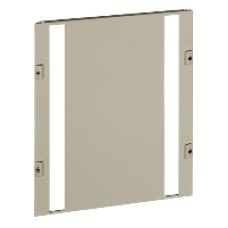 03229 - front plate 2 vertical modular row width 600/650 12M, Schneider Electric
