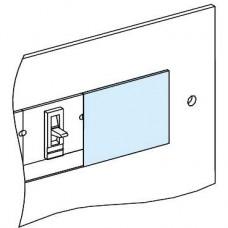 03249 - blanking plate NSX/CVS250-EZC100 vertical W147 - Prisma, Schneider Electric