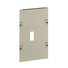 03250 - front plate CVS 250 vertical fixed toggle W300 9M, Schneider Electric