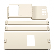 03264 - mounting + front plate INS/INV250 h.fix.tog. W600 6M Pack 250, Schneider Electric