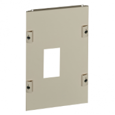 03280 - front plate CVS 630 vertical fixed toggle W300 8M, Schneider Electric