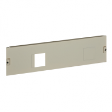 03294 - front plate NSX250 horizontal fixed toggle W850 4M, Schneider Electric