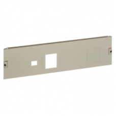 03295 - front plate vigi NSX250 horizontal fixed toggle W850 4M, Schneider Electric