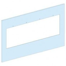 03321 - front plate ISFT 160 vertical width 600/650 6M, Schneider Electric