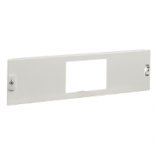 03326 - front plate ISFT 160 horizontal W600 3M, Schneider Electric