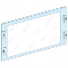 03345 - transparent front plate width 600/650 12M, Schneider Electric