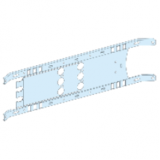 03411 - mounting plate vigi NSX/CVS toggle - 3P 250A horizontal width 650, Schneider Electric