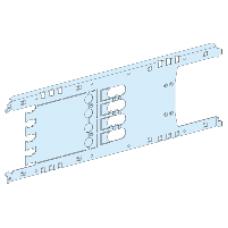 03414 - mounting plate vigi NSX/CVS plugin toggle/rot/mot - 4P 250A horizontal width 650, Schneider Electric