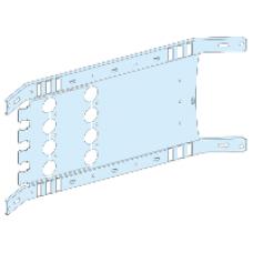 03452 - mounting plate vigi NSX/CVS toggle - 4P 630A horizontal width 650, Schneider Electric