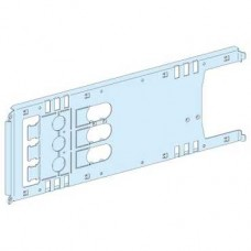 03453 - mounting plate vigi NSX/CVS plugin toggle/rot/mot - 3P 630A horizontal width 650, Schneider Electric