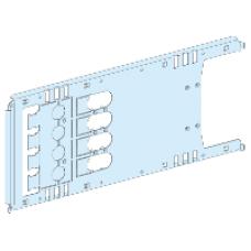 03454 - mounting plate vigi NSX/CVS plugin toggle/rot/mot - 4P 630A horizontal width 650, Schneider Electric