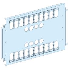 03461 - mount.plate 2 NSX/CVS/INS fixed/plugin toggle/rot/mot -3P/4P 630A vertical W650, Schneider Electric