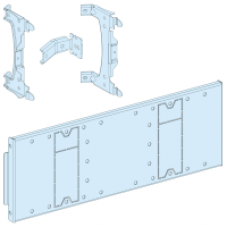 03504 - mounting plate for EZC fixed -3P/4P 250A vertical and horizontal in width 650, Schneider Electric
