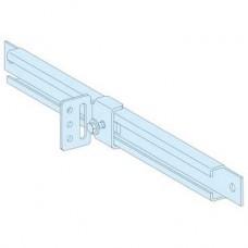 03593 - slide rails (2) + angle brackets, Schneider Electric