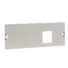 03606 - front plate vigi NSX.toggle / CVS.rotary - 4P 250A horizontal width650 4Modules, Schneider Electric