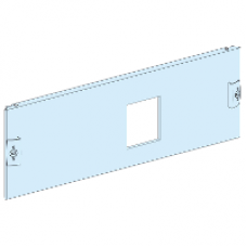03611 - front plate vigi CVS/CVS 250 3P horizontal fixed toggle H=3 modules Prisma P, Schneider Electric