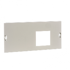 03644 - front plate vigi NSX.toggle / CVS.rotary - 4P 630A horizontal width650 4Modules, Schneider Electric