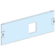 03651 - front plate vigi CVS/CVS 630 3P horizontal fixed toggle H=4 modules Prisma P, Schneider Electric