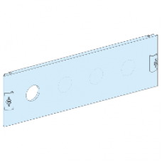 03729 - front plate for horizontal INF400, Schneider Electric