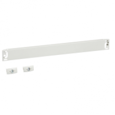 03801 - plain front plate width 600/650 1M, Schneider Electric