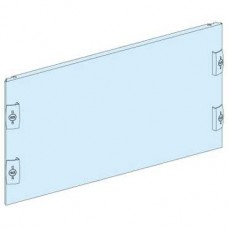 03808 - plain front plate width 600/650 12M, Schneider Electric