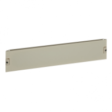 03854 - plain front plate W850 4M, Schneider Electric