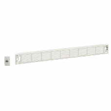 03891 - IP30 ventilated front plate width 600/650 1M, Schneider Electric