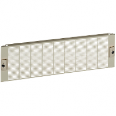 03895 - IP30 ventilated front plate width 600/650 3M, Schneider Electric