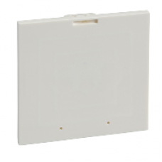 03908 - support 96x96 metering device/push-button for cut-out front plate 03911/03913, Schneider Electric