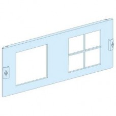 03912 - front plate 1 cut-out 144x144-4 cut-out 72x72 meter. dev./p-but. width600/650 4M, Schneider Electric