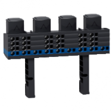 04018 - Linergy FM 3P+N distribution block 160A - 12 modules - 27 holes quick connection, Schneider Electric