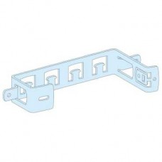 04220 - Prisma mounting plate for terminal block and earth bar in duct, Schneider Electric