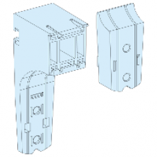 04256 - adaptable support (10) for horizontal trunking, Schneider Electric