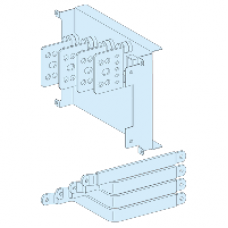 04456 - connection transfer assembly in duct for fixed horizontal NSX630 with toggle 4P, Schneider Electric