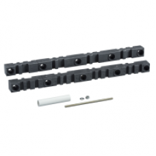 04678 - free 5/10mm busbar support D600 Linergy BS, Schneider Electric