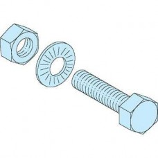 04786 - 20 bolts 8.8 class M8x40 /Linergy BS, Schneider Electric