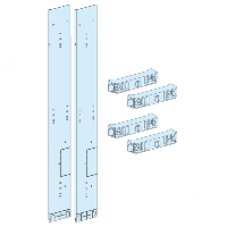 04921 - form 2 front barrier for lateral vertical busbars L = 150 mm, Schneider Electric