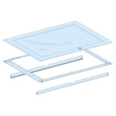 08340 - glass door + frame W850 33M Prisma G IP55, Schneider Electric