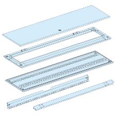08345 - duct (rear enclosure + plain door) W300 19M Prisma G IP55, Schneider Electric