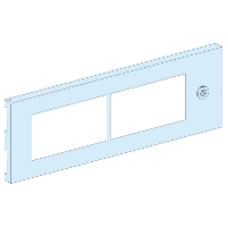 08377 - partial plain door 6M Prisma G IP55/33M, Schneider Electric