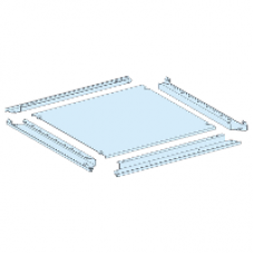 08484 - plain gland plate IP55 W = 400 mm D = 400 mm, Schneider Electric