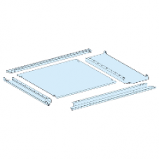 08487 - plain gland plate IP55 W = 650 + 150 mm D = 400 mm, Schneider Electric