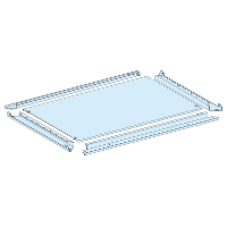 08686 - plain gland plate IP55 W = 650 mm D = 600 mm, Schneider Electric