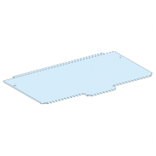 08874 - plain metal gland plate W300 /G IP30, Schneider Electric