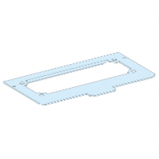 08875 - cut-out metal gland plate W300 /G IP30, Schneider Electric
