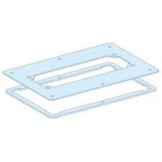 08876 - cut-out metal plate for FL21 gland plate installation Prisma G IP55, Schneider Electric