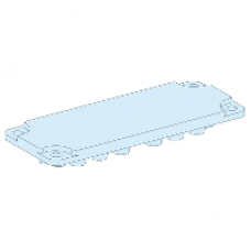08881 - plastic plain gland plate for ref 08871/08875/08876 Prisma G IP30 and IP55, Schneider Electric